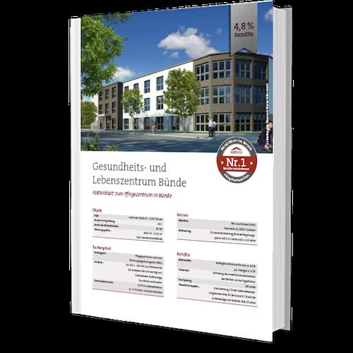 Pflegeimmobilie Bünde kaufen bei Bielefeld - Exposee download